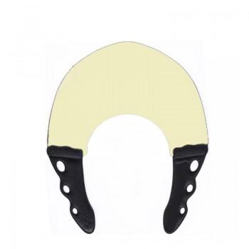 Воротник для стрижки и окрашивания 0.6мм, натуральным с черным