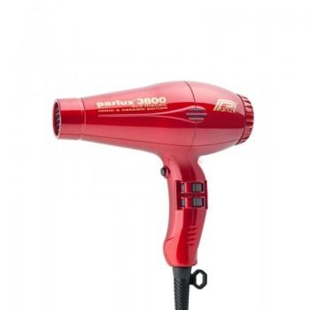 Parlux 3800 Eco Friendly Ceramic & Ionic профессиональный фен красный 2100W
