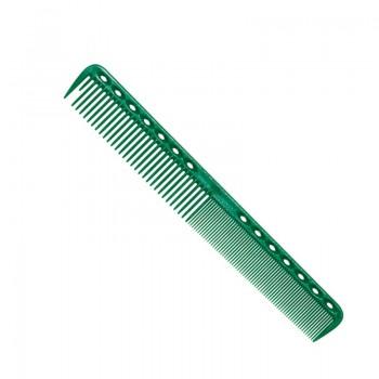 Парикмахерская расческа Y.S.Park YS-336-10 зеленая